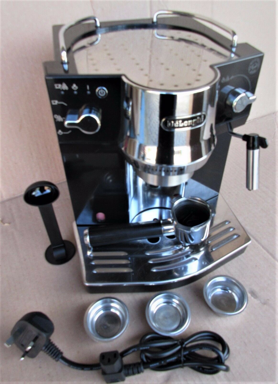 delonghi espresso machine how to use