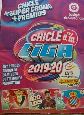 CHICLES DE LA LIGA ESTE 2019+2020 COLECCIÓN COMPLETA 80 CROMOS CON LOS...