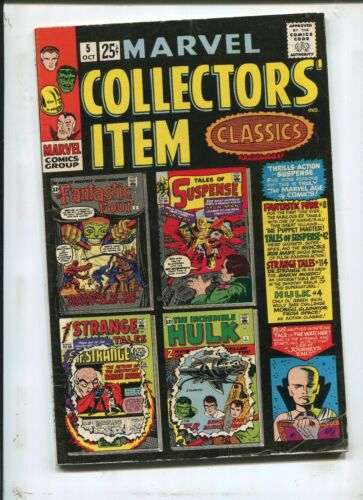 MARVEL COLLECTORS ITEM #5 - THE PUPPET MASTER! - (6.0) 1966