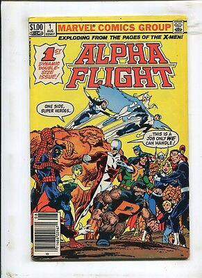 ALPHA FLIGHT #1 - ONE SIDE, SUPER HEROES! - (9.2) 1983