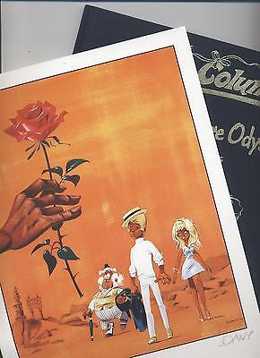 OLIVER & COLUMBINE # 1 LUXUS + sign. DRUCK - DANY /GREG - TOP