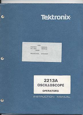 Tektronix 2213a Oscilloscope Operaters Manual Loc.tek 127