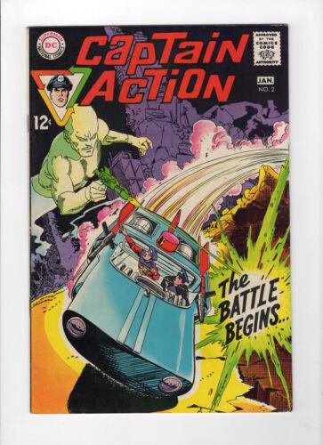 Captain Action #2 (Dec 1968-Jan 1969, DC) - Very Fine/Near Mint