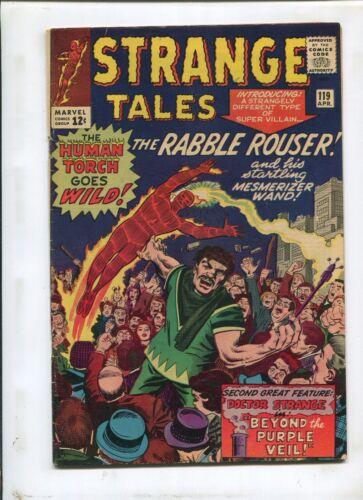 STRANGE TALES #119 (6.5) SPIDER-MAN CAMEO!