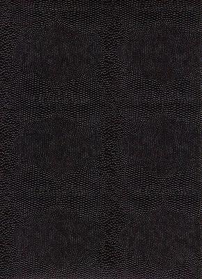 Eidechsenpapier / Überzugspapier / Vorsatz 1 Bogen 50 x 70 cm schwarz