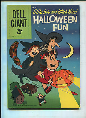 Little Lulu Halloween Comics (DELL GIANT LITTLE LULU AND WITCH HAZEL HALLOWEEN FUN #36 (7.5))