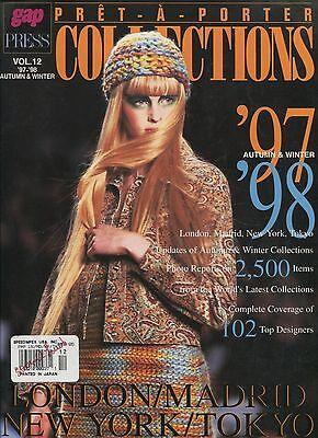 PRET-A-PORTER COLLECTIONS MAGAZINE Vol 12 1997-1998 Autumn & Winter E-1-2