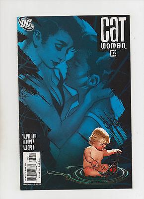 Catwoman #62 - Adam Hughes Art! Selina's Baby Cover - (Grade 9.2) - Baby Catwoman