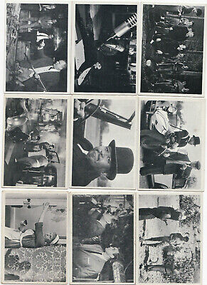 1965 Philadelphia Gum Glidrose James Bond Movies Lot of 16 Cards