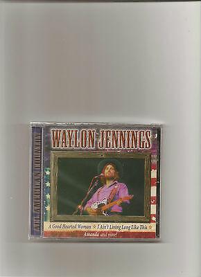 Waylon Jennings, Cd all America Country Sealed