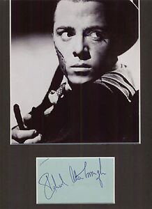 RICHARD-ATTENBOROUGH-PINKIE-BROWN-BRIGHTON-ROCK-SIGNED-AUTOGRAPH-DISPLAY-UACC