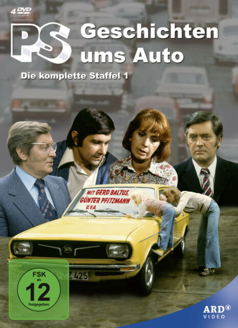 PS - Geschichten ums Auto 1975 komplette Staffel 4-DVD-Box Günter Pfitzmann OVP!