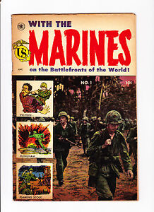 With-The-Marines-No-1-1953-John-Wayne-Story