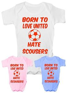Love-Man-United-Hate-Scousers-Football-Babygrow-Vest-Baby-Clothing-Funny-Gift