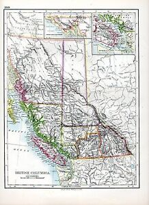 1897-VICTORIAN-MAP-BRITISH-COLUMBIA