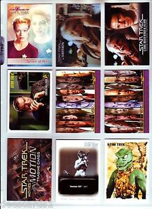 STAR-TREK-MIXED-PROMO-LOT-9-CARDS-INCLUDES-2-CONVENTION-EXCLUSIVES