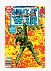 Army-At-War-No-1-1978-Kubert-Art
