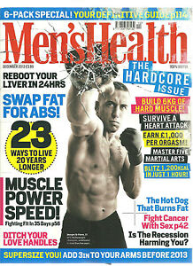 MENS HEALTH 100%USEFUL MAGAZINE SWAP FAT FOR ABS LIVE 20 YEARS LONGER