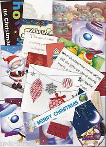 50 ASSORTED CHRISTMAS CARD TOPPERS, CARD MAKING CLEAROUT  BARGAIN