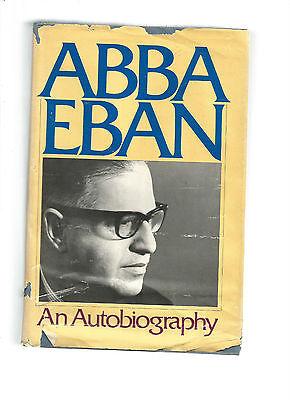 Abba Eban : An Autobiography by Abba Eban (1977, Hardcover)