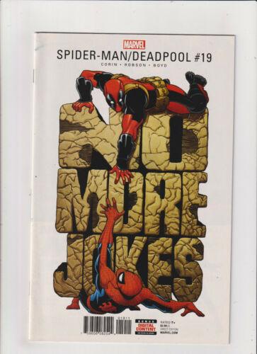 Spider-man/Deadpool #19 VF/NM 9.0 Marvel Comics 2017
