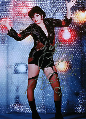 Liza Minnelli - Sally Bowles - Cabaret - Signed Autograph REPRINT