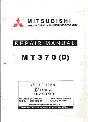 Mitsubishi Mt370 D Tractor Repair Manual