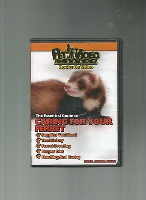 Pet Video Library  Caring For Your Ferret  Dvd