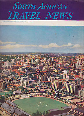South African Travel News  68 December 1939 Cricket Test Match Cover