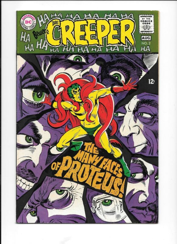 Beware the Creeper #2 (Jul-Aug 1968, DC) Steve Ditko art