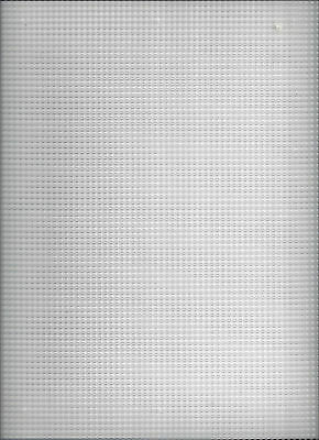 7 COUNT PLASTIC CANVAS by DARICE - 10.5 INCHES x 13.5 INCHES 7 Count Plastic Canvas
