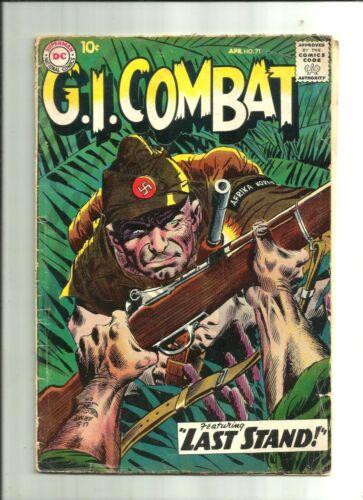 G.I. COMBAT #71 (1959, DC) Silver Age Comic