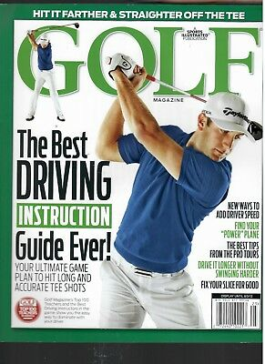 Golf, the Best Driving Instruction Guide (Best Driving Instruction Books)