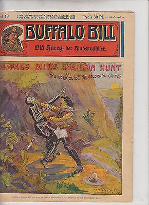Buffalo Bill 1930 Originalheft Nr. 19 Zustand (1-2/2) schöner Zustand Kühn Vlg.