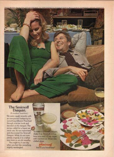 Smirnoff Vodka Daiquiri--1973 Magazine Advertisement