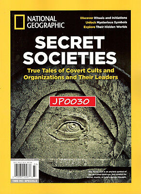 National Geographic 2017  Secret Societies  Time Special  Brand New Sealed