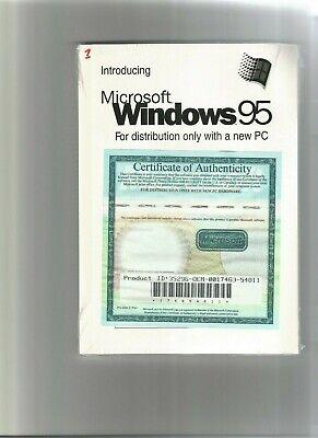 LIVRE : INTRODUCING MICROSOFT WINDOWS 95 en anglais   1