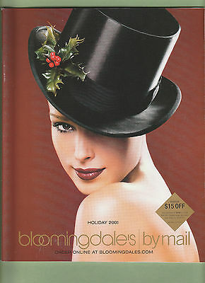 Vintage Bloomingdale's by Mail Catalog Holiday 2001 - Super Sexy - Catalogs By Mail