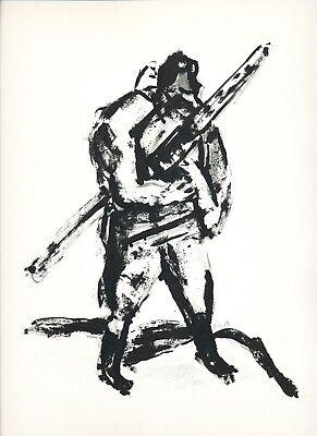 LEIPZIGER SCHULE original Grafik Benjamin Meinberg (1983)
