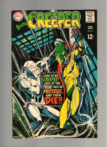 BEWARE THE CREEPER # 5   ( 1968 )     DC COMICS   SHARP COPY!
