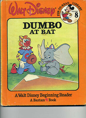 Dumbo At Bat  From Disneys Fun To Read Library  1986