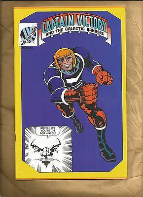Captain Victory and the Galactic rangers 2 2000 Jack Kirby Comics US Comics