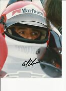 IndyCar Signed Photo