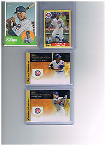2012 Heritage Chicago Cubs Team Set (13) Base Cards   ***Plus More***