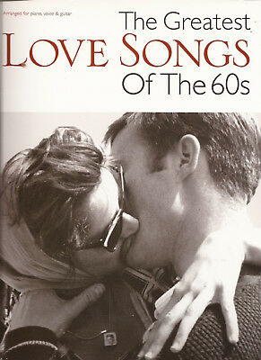 Klavier Gitarre Gesang Noten - THE GREATEST LOVE SONGS OF THE 60s - 25 Songs