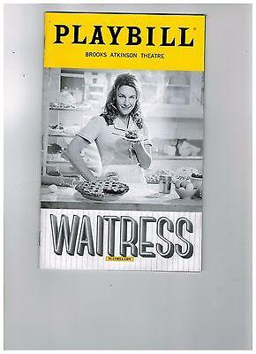 WAITRESS---JESSE MUELLER (Broadway)  PLAYBILL NOVEMBER 2016.....LOW SHIPPING