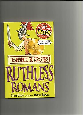 Cheap Baby Books (Ruthless Romans (Horrible Histories), Deary, Terry Paperback Book The Cheap)