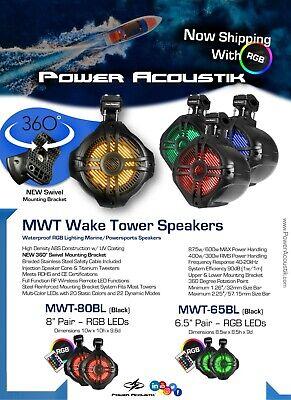 Power Acoustik MWT-80BL 850 W Marine 8