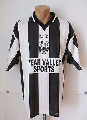 TOW LAW TOWN FC 1998 SPECIAL HOME FOOTBALL SHIRT JERSEY FA VASE FINAL WEMBLEY M image
