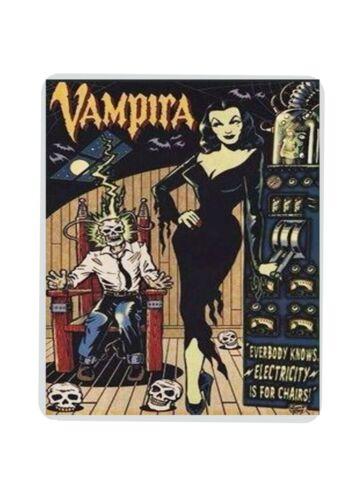 Vampira Mouse pad Handmade Gift Halloween Horror computer